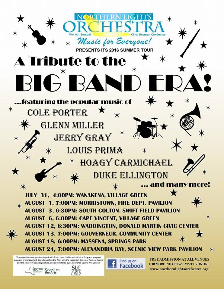 Big band era poster